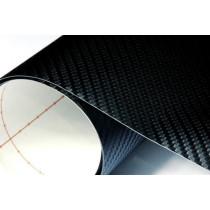 Karbon fólia Fekete 100x152 cm